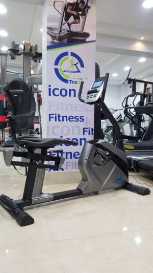 electric relax bike icon fitness